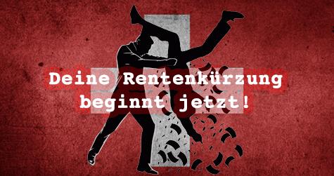 Rentenklau: Bundesrat senkt Mindestzinssatz