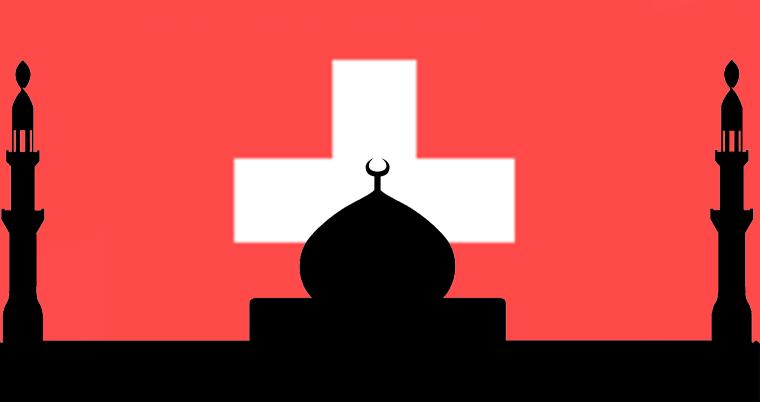 Islam Minarett Moschee in der Schweiz