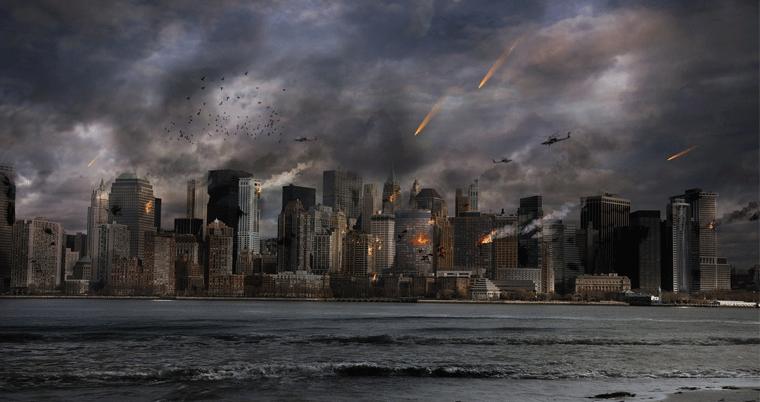 Krieg Zerstörung Armageddon Waffen