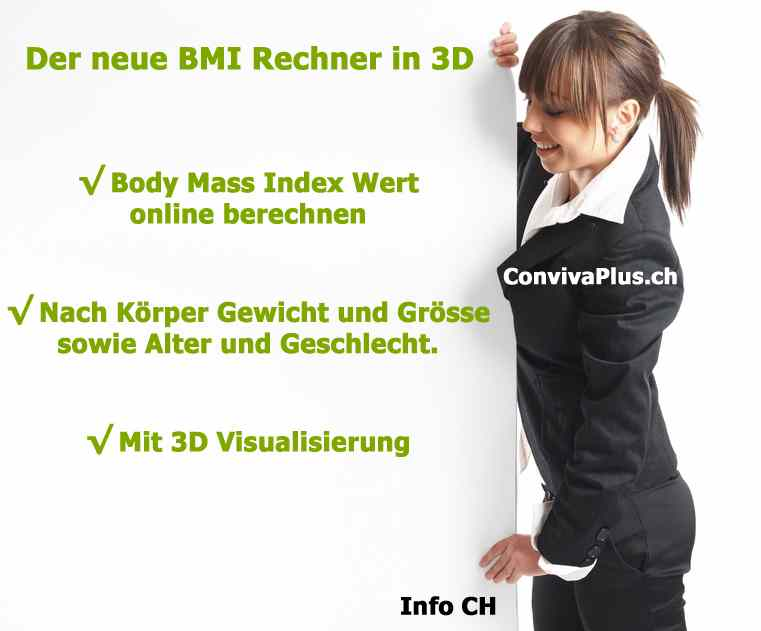 bmi rechner online body mass index in 3d info ch. Black Bedroom Furniture Sets. Home Design Ideas