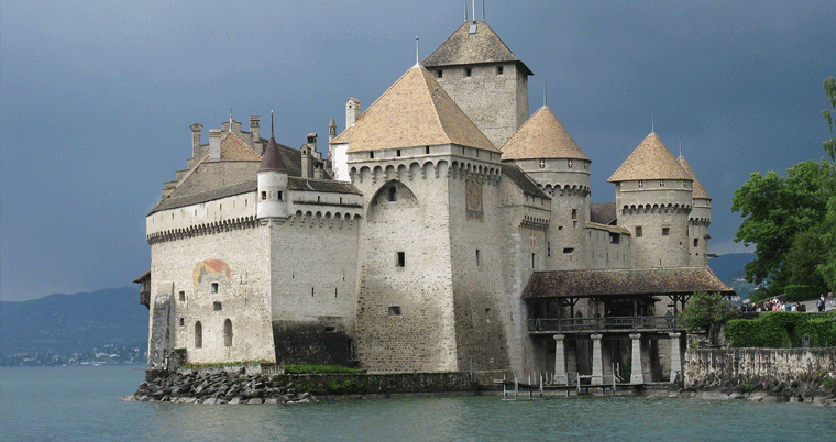 Schloss Chillon in Montreux
