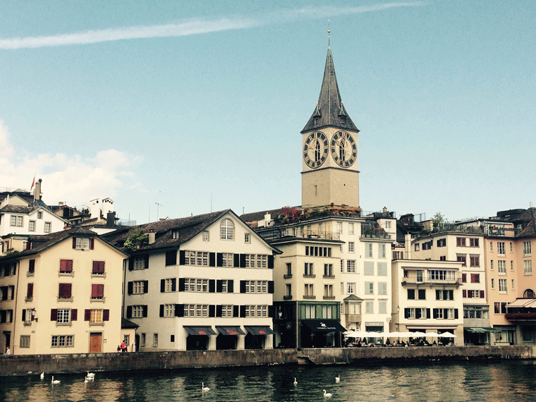 St. Peterskirche in Zürich